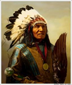письмо индейского вождя