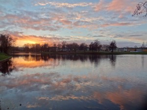 Озеро в Риге
